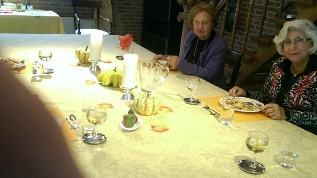 Beautiful lunch gathering
