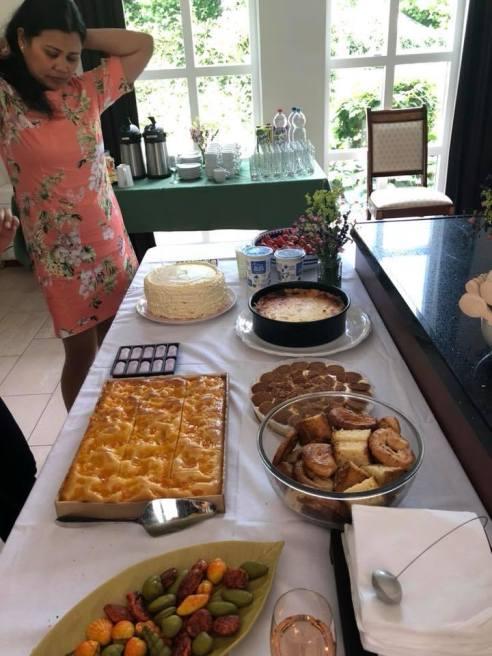 A wide range of food